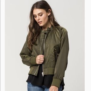 Free People Midnight Women's Bomber Jacket